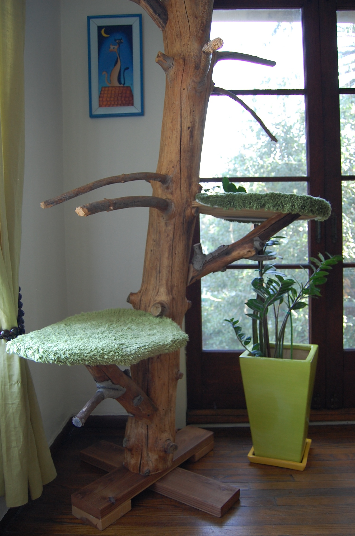 Cats Love Trees One Of A Kind Cat Trees Hand Crafted All
